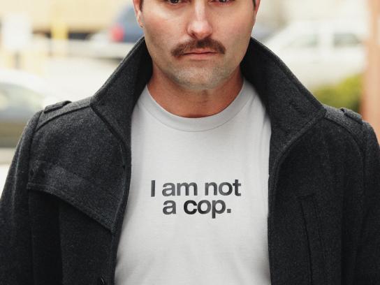 Movember Print Ad -  Cop