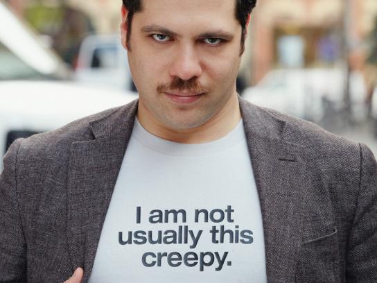 Movember Print Ad -  Creepy