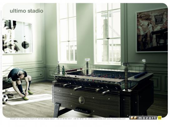 Mozart Print Ad -