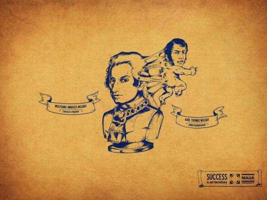 Instituto Mauà De Tecnologia Print Ad -  Mozart
