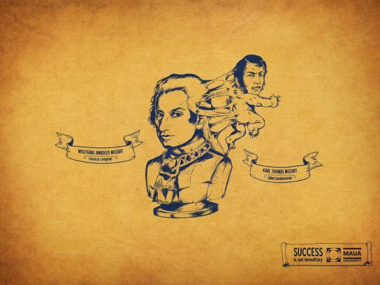 Maua University Print Ad -  Mozart