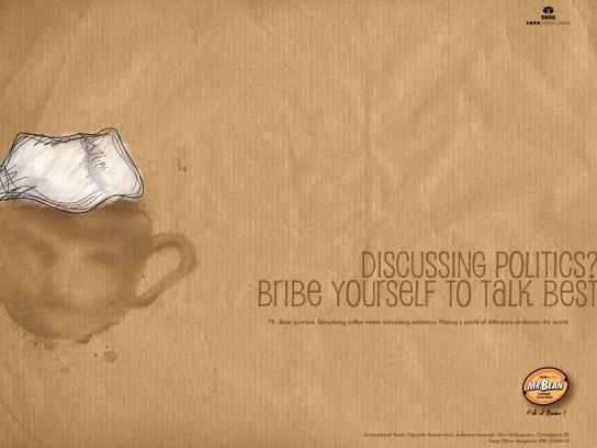 Mr. Bean Coffee Junction Print Ad -  Best