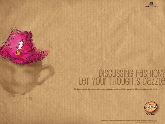 Mr. Bean Coffee Junction Print Ad -  Dazzle