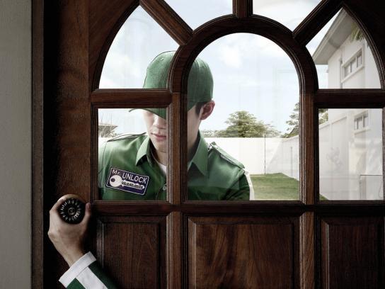 Mr Unlock Print Ad -  Home
