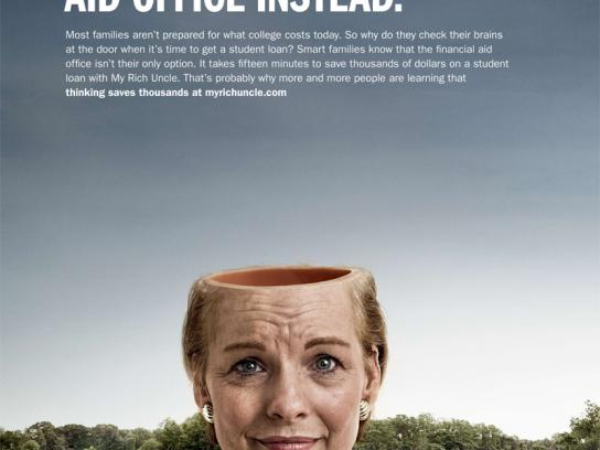 MyRichUncle Print Ad -  Saving