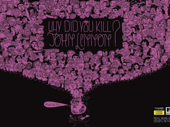 MTV Print Ad -  John Lennon