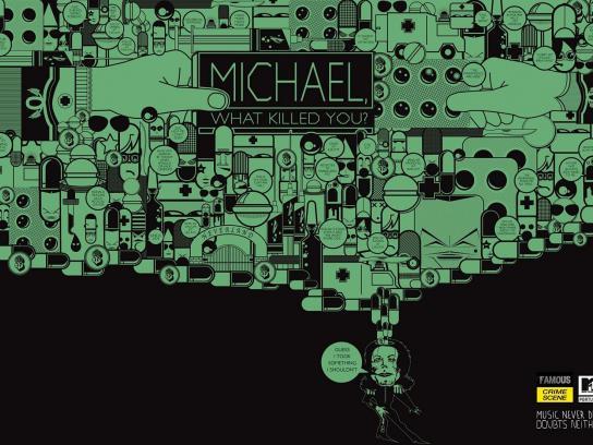 MTV Print Ad -  Michael Jackson