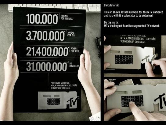 MTV Direct Ad -  Calculator