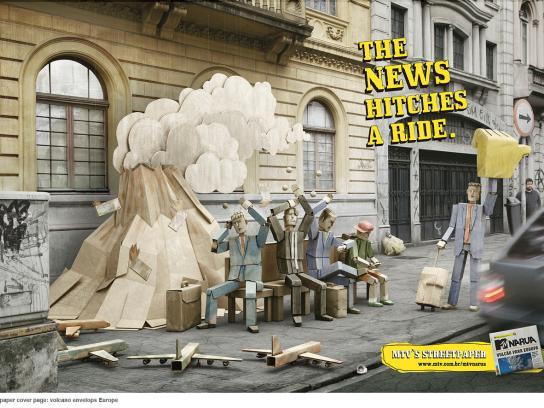 MTV Print Ad -  Volcano