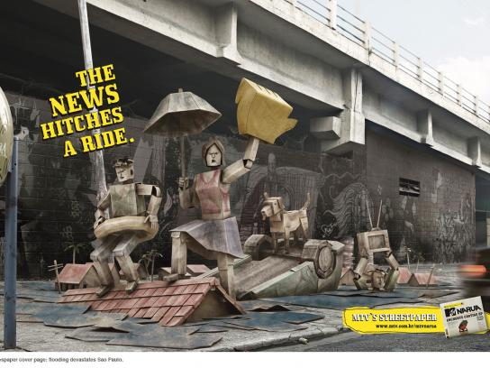 MTV Print Ad -  Floods