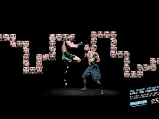 Betboo.net Print Ad -  UFC RIO 134 Muay thai