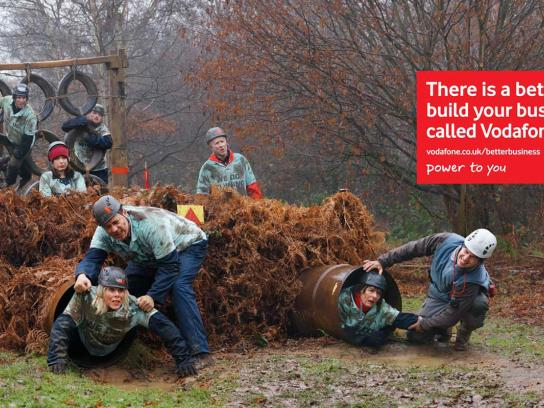 Vodafone Outdoor Ad -  Mud