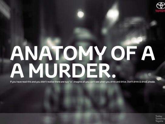Toyota Print Ad -  Murder