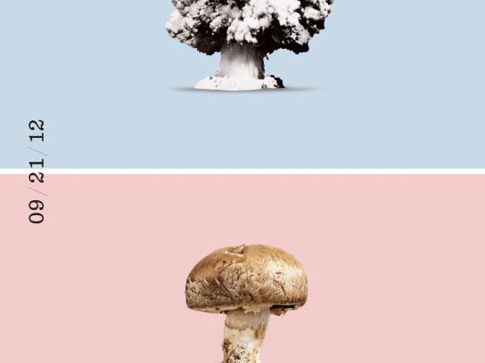 Recipeace Print Ad -  Mushroom cloud