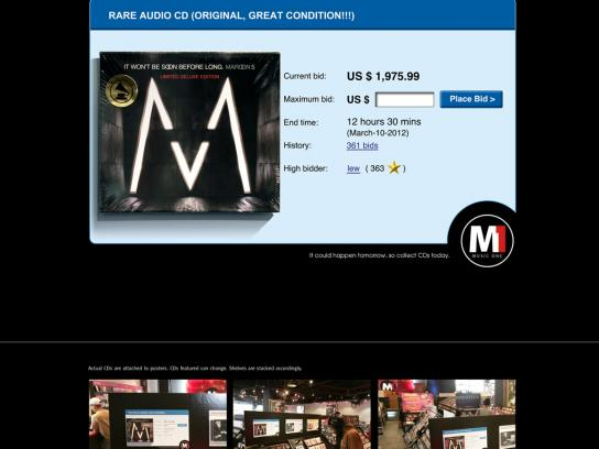 Music One Ambient Ad -  Maroon 5