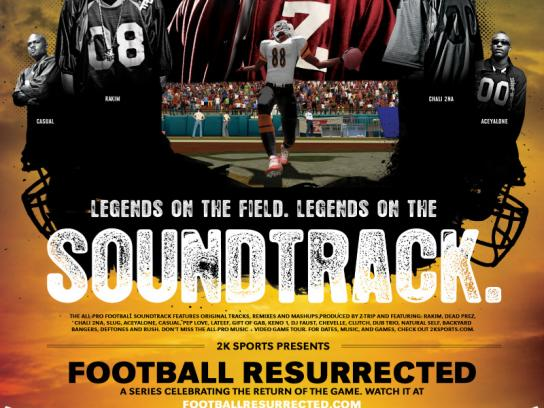 Football Resurrected, Music