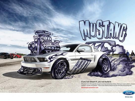 Ford Print Ad -  MustangCustomizer.com