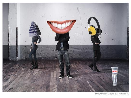 Colgate Print Ad -  Guy