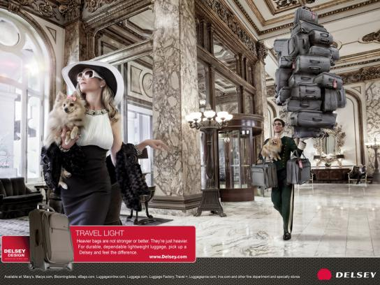 Delsey Print Ad -  Lobby