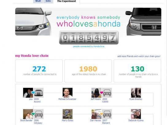 Honda Digital Ad -  Everyone knows somebody who loves a Honda