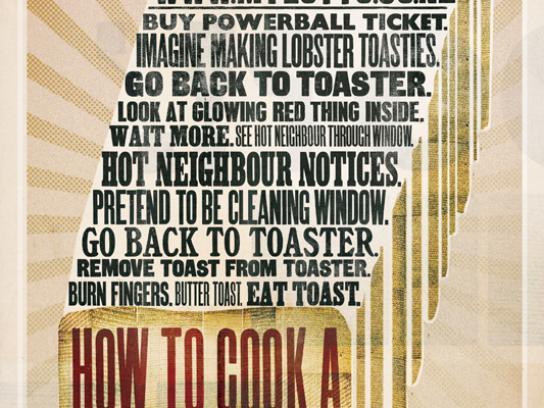 mylotto Print Ad -  Toast