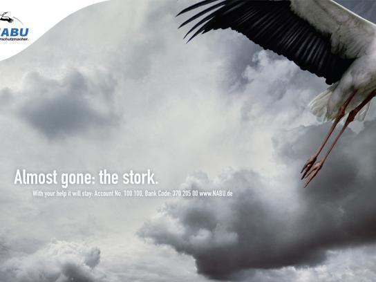 NABU Print Ad -  Stork