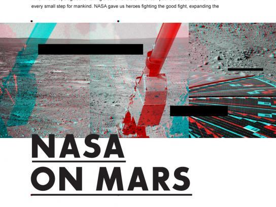 Martian Summer Outdoor Ad -  Nasa on Mars