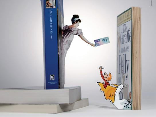 National Book Tokens Print Ad -  Emma/Pelly
