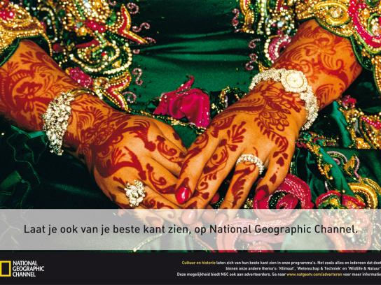 National Geographic Print Ad -  Henna