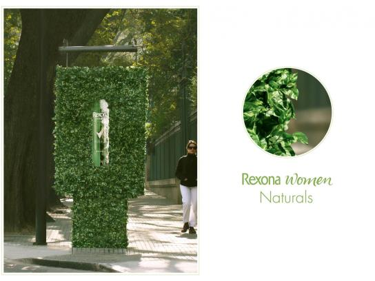 Rexona Outdoor Ad -  Leaves