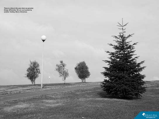Egalsa Print Ad -  Merry Christmas, 1