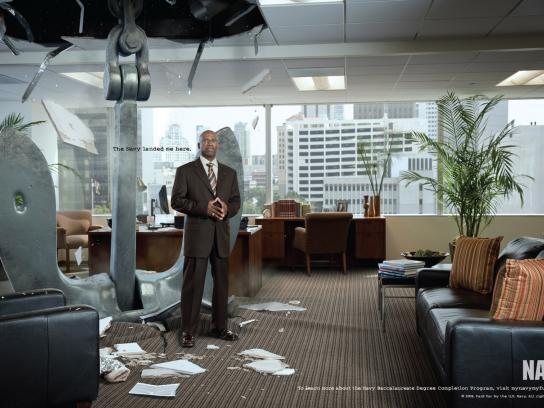 U.S. Navy Print Ad -  CEO