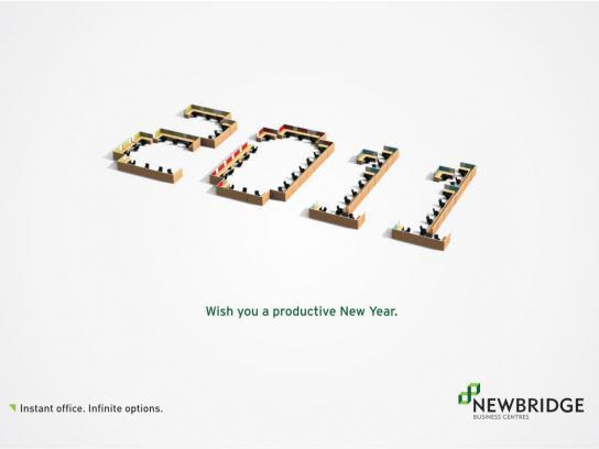 Newbridge Print Ad -  Workstation New Year