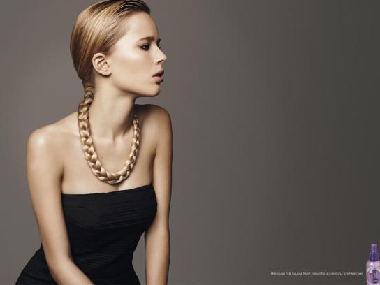 Iam Haircare Print Ad -  Necklace