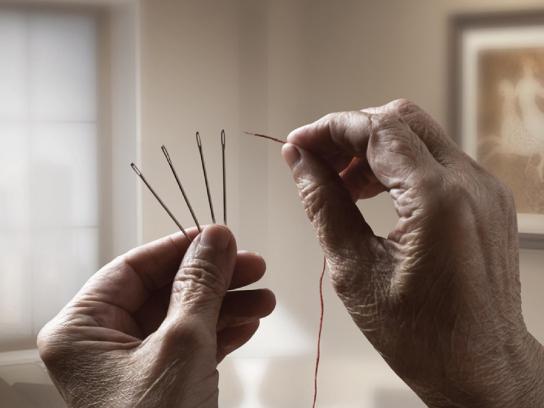 AMRI Print Ad -  Needle