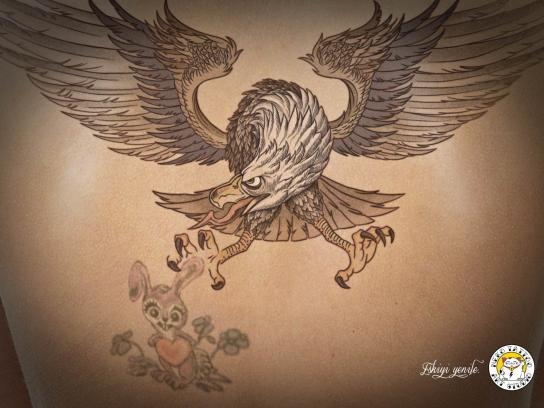 Neko Tattoo & Art Studio Print Ad -  Eagle