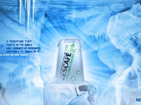 Nescafe Print Ad -  Freshness