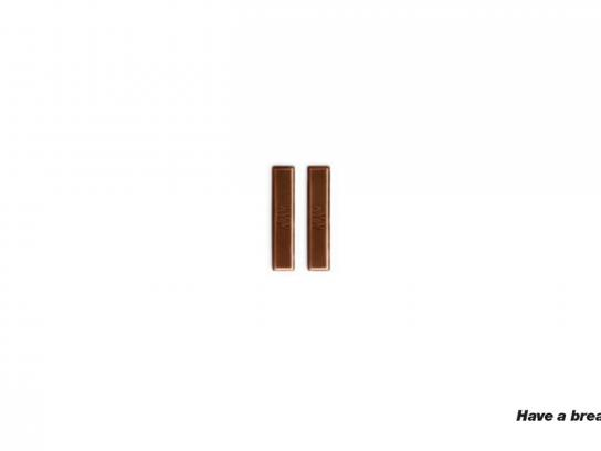 Nestle Print Ad -  Break