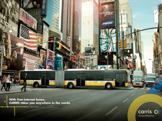 Carris Print Ad -  New York