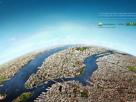 Petrobras Print Ad -  New York