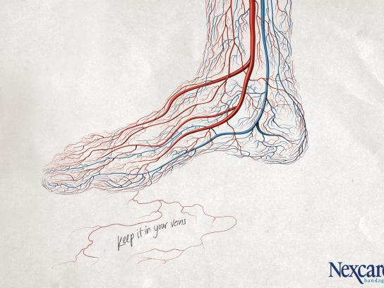 Nexcare Print Ad -  Foot