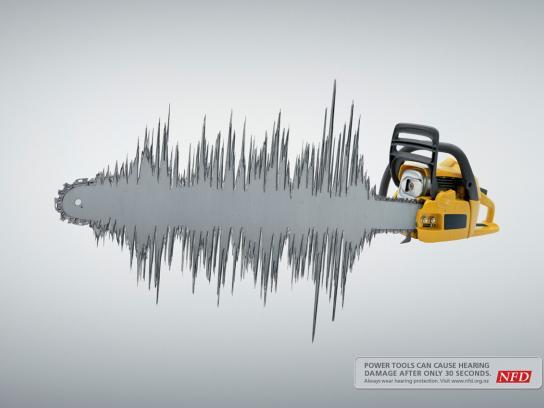 NFD Print Ad -  Chainsaw