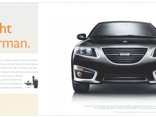 SAAB Print Ad -  Nicht German