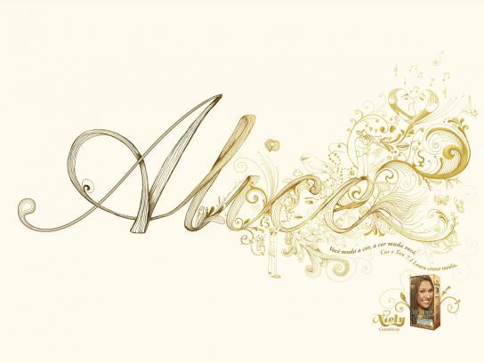 Niely Cosméticos Print Ad -  Alice