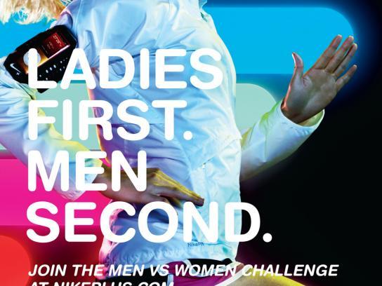 Nike Print Ad -  First