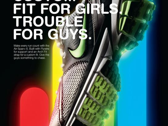 Nike Print Ad -  Custom fit