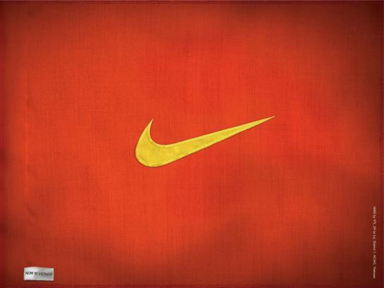 Nike Print Ad -  Flag