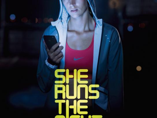 Nike Print Ad -  Daniella
