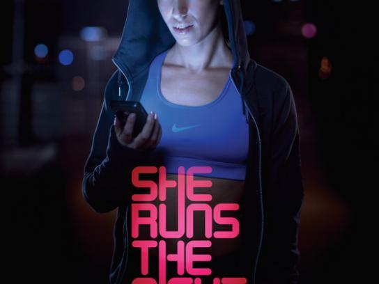 Nike Print Ad -  Kelly