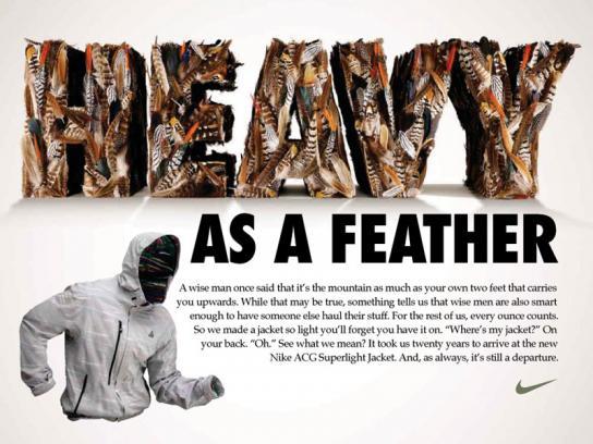 Nike Print Ad -  Heavy